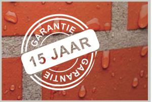 15 jaar garantie bij BM Holland